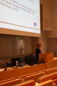 Kuvassa projektipäällikkö Merja Reijonen